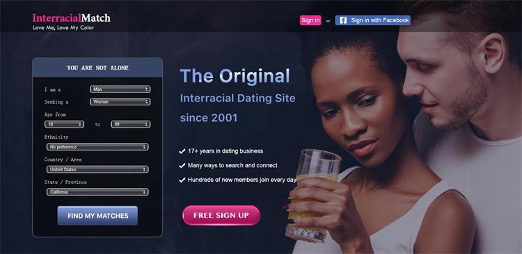 Interracial dating websites review